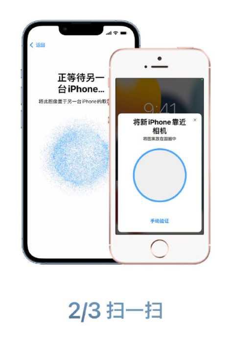 只需三步!即可将数据迁移到苹果iPhone13系列上
