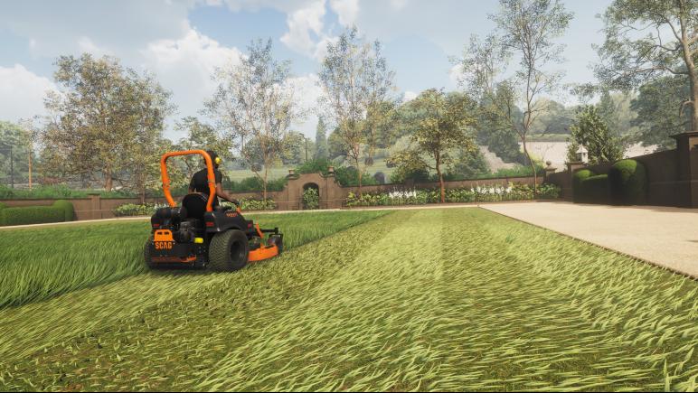 《Lawn Mowing Simulator》Steam开启特惠活动