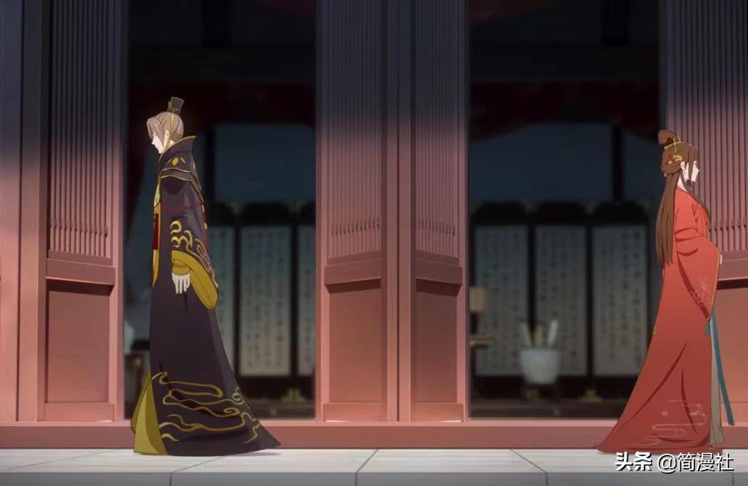 《两不疑》4话,皇帝来癸水,皇后去青楼,国师却笑得像个傻憨憨
