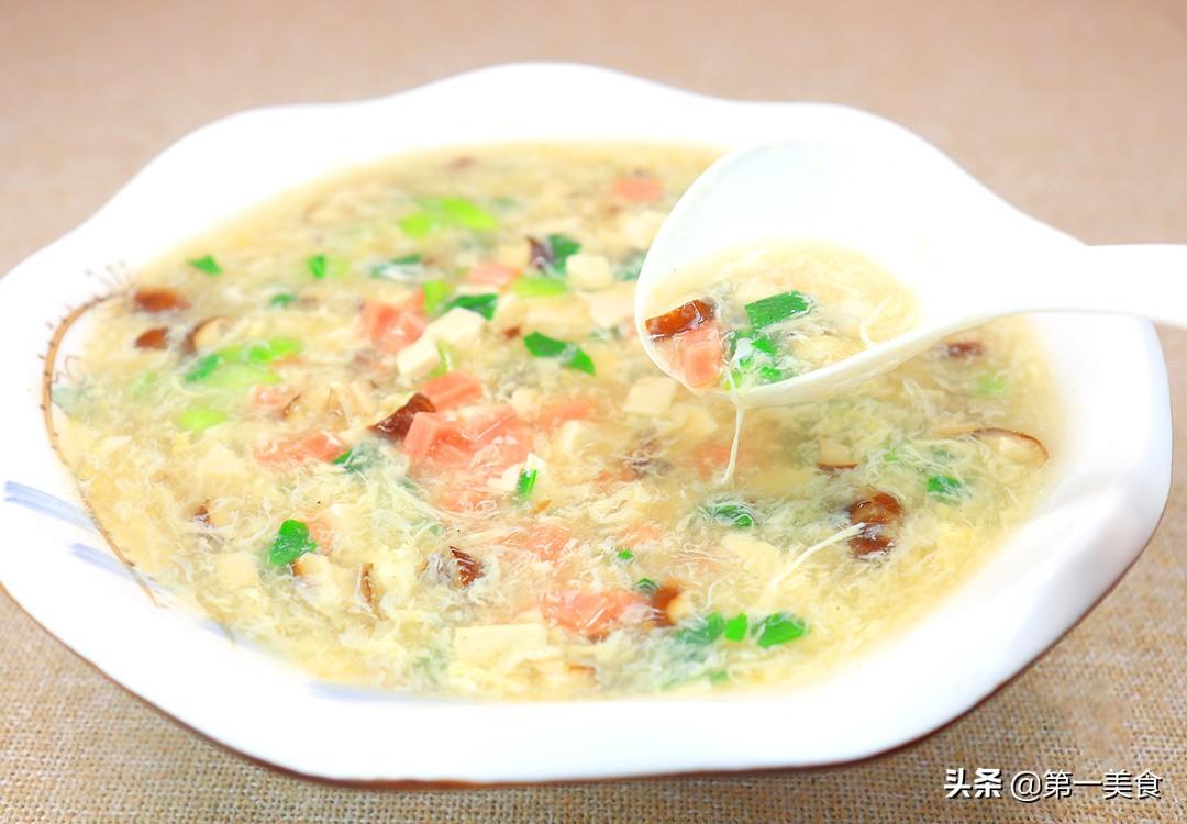 【香菇豆腐汤】做法步骤图 驱寒暖胃 大人小孩都可以喝