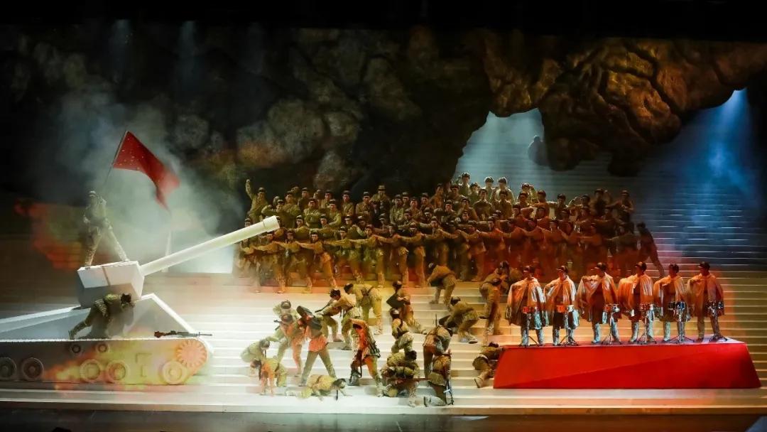 民族歌剧《同心结(音乐会版)》圆满完成在万搏买球的排练任务