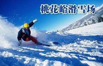 【春节2小时】桃花峪滑雪场滑雪成人票